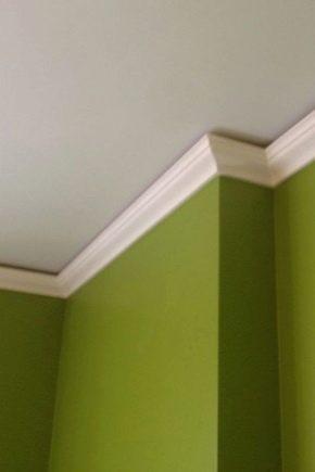 Comment choisir une plinthe pour le plafond ?