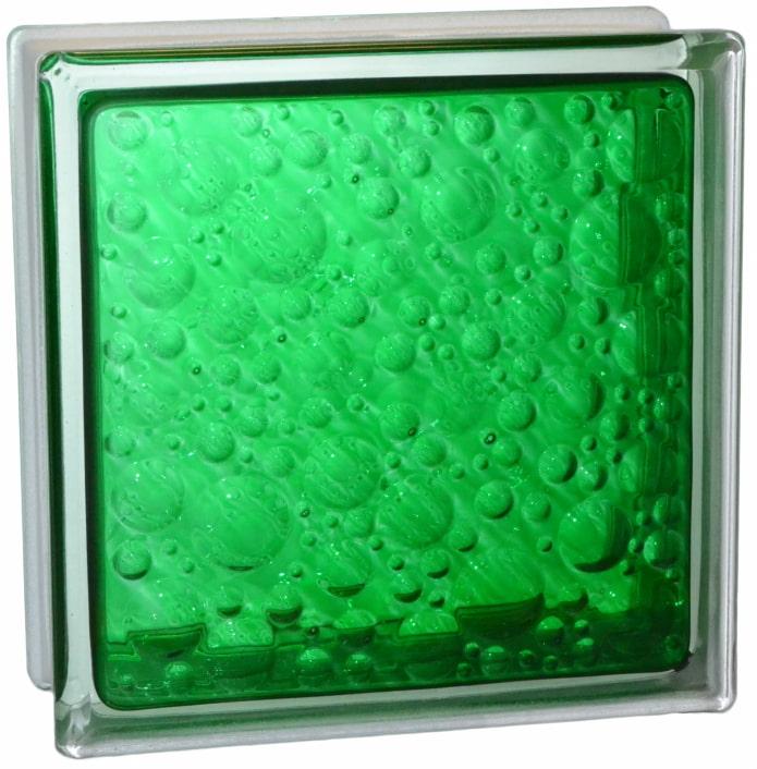 bulles de blocs de verre