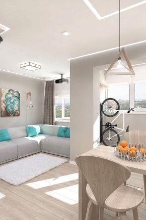 Conception d'appartement: idées modernes et nouveautés à la mode