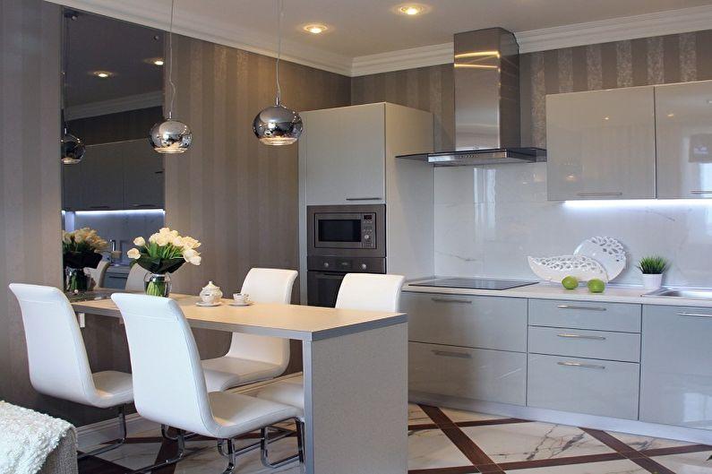 Conception de cuisine 13 m²  (70 photographies)