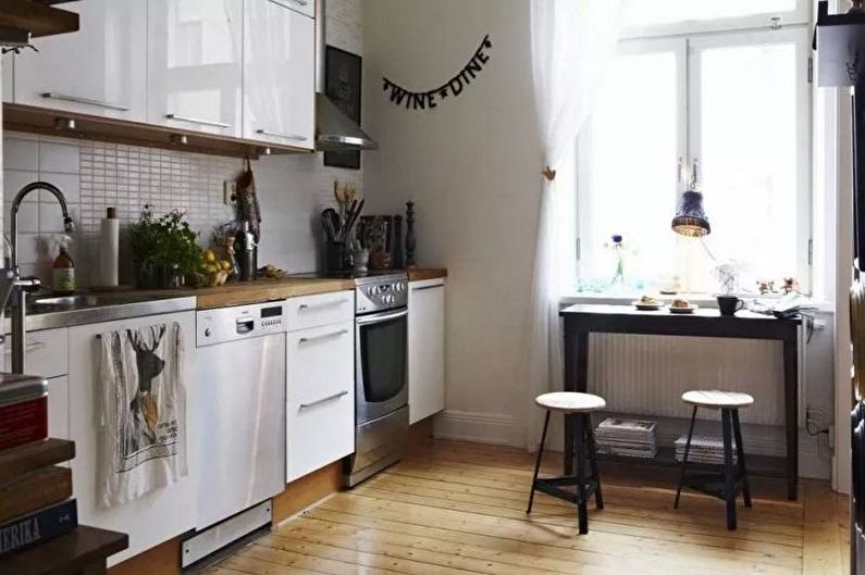 Conception de cuisine 14 m²  (65 images)