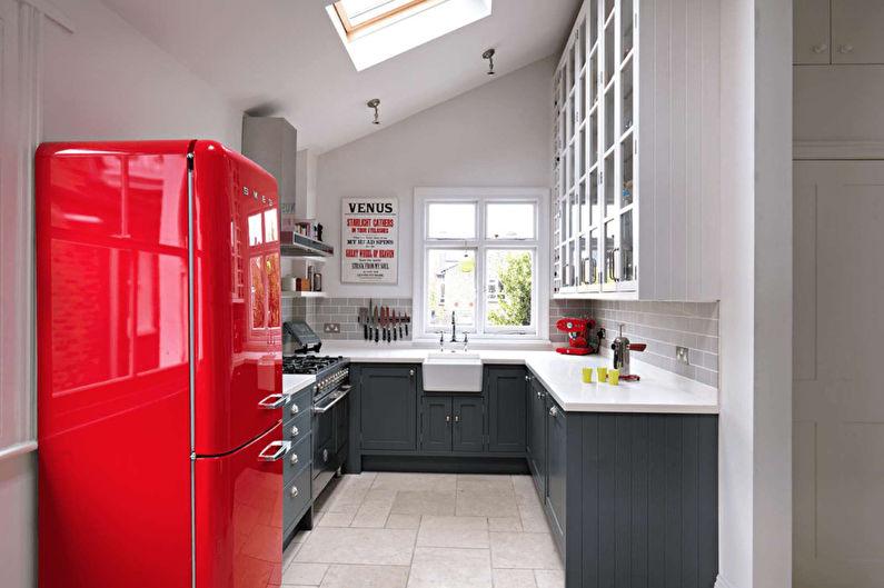 Conception de cuisine 7 m²  (+100 photos)
