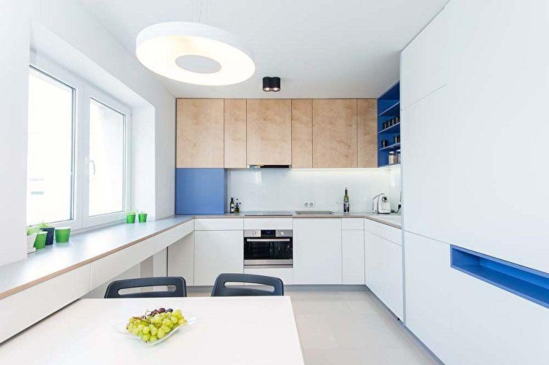 Conception de cuisine dans le style du minimalisme (100 photos)