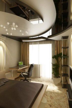 Conception de la chambre 10-11 m²  m