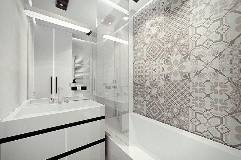 Conception de salle de bain 3 m²  (100 photos)