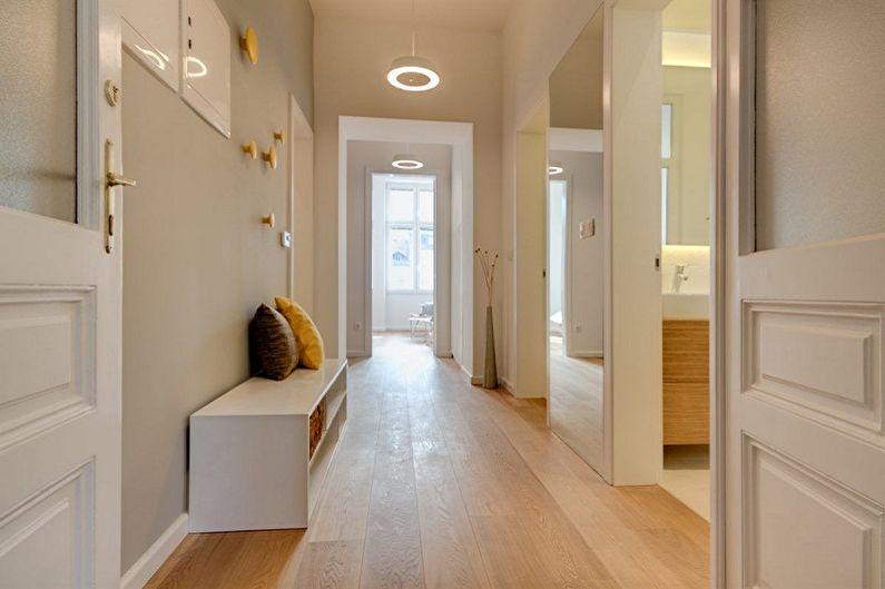Conception du couloir dans l'appartement: 80 photos et idées