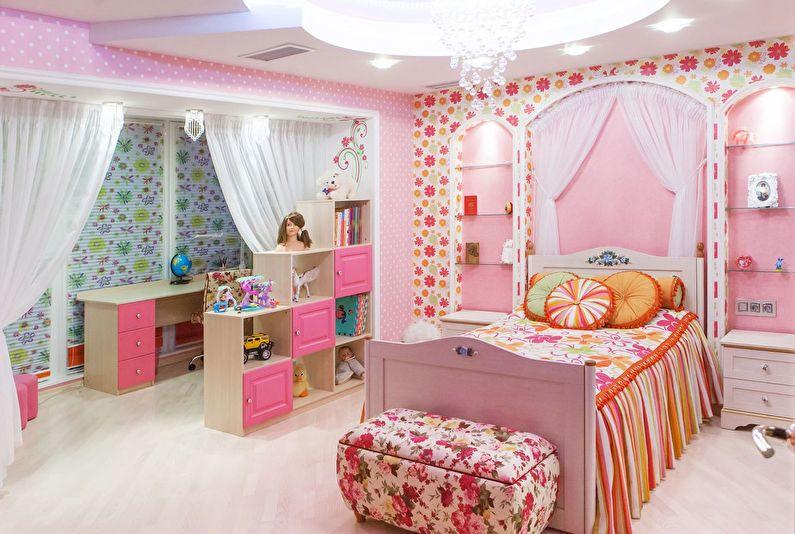 Conception d'une chambre d'enfant pour une fille (65+ photos)