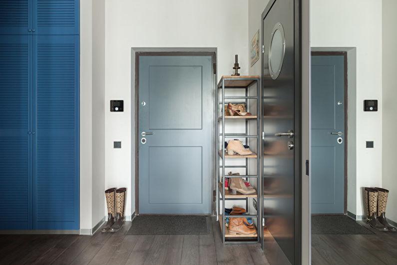 Couloir dans un style moderne (+67 photos)