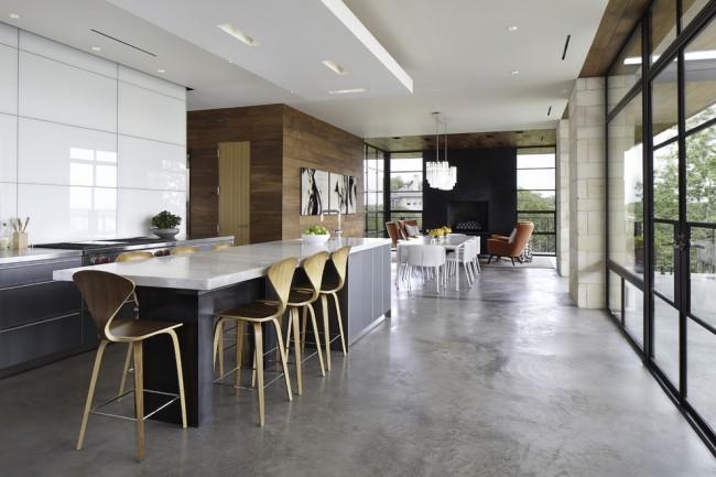 Une cuisine moderne doit avant tout être pratique et confortable : finitions naturelles, meubles de qualité et accessoires bien pensés