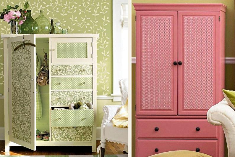 DIY déco d'armoire ancienne : 11 idées