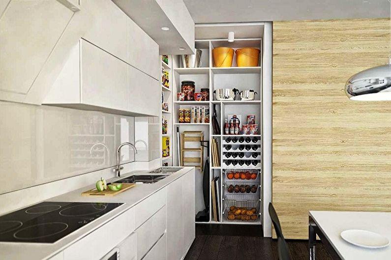 Idées de conception de garde-manger dans l'appartement (70 photos)