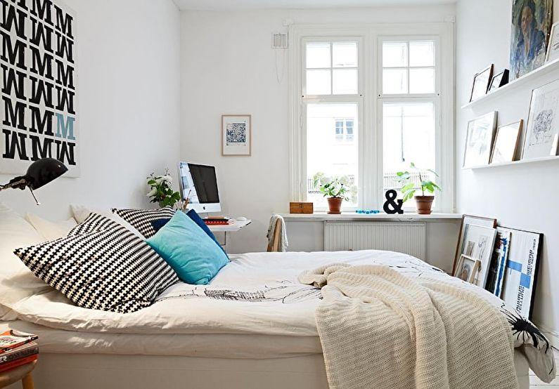 Idées de design de chambre 12 m²  (60+ photos)
