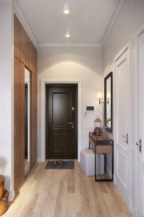 Meubles à la mode dans un style moderne pour le couloir