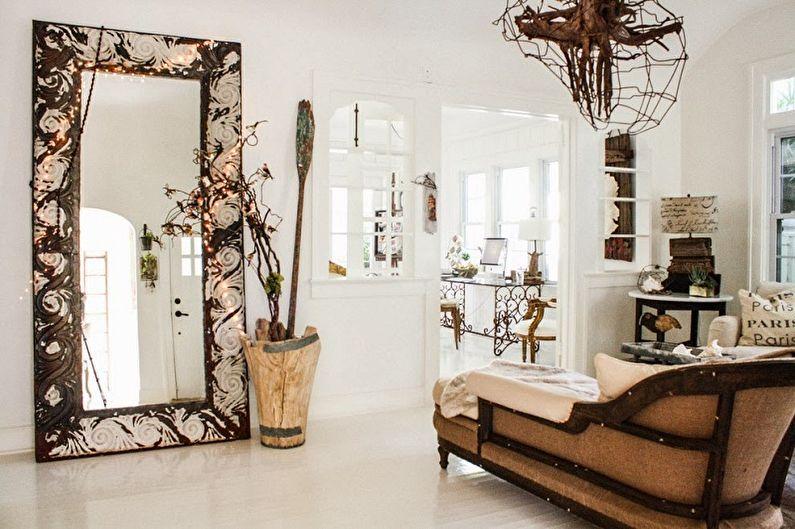 Miroir de couloir (65+ photos)