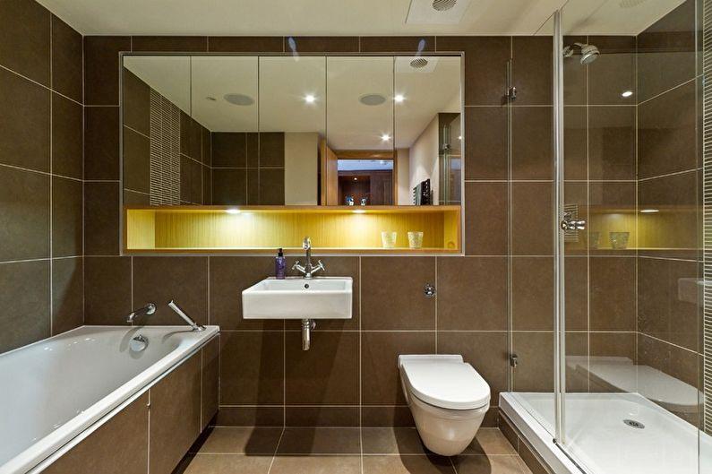Miroir de salle de bain (85+ photos)