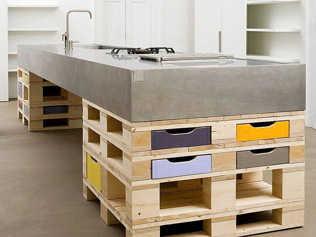 Les meubles de palette peuvent être élégants et tendance