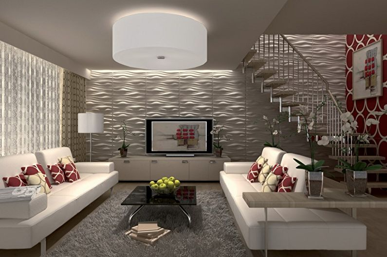 Panneaux muraux pour la décoration intérieure (85 photos)