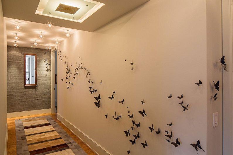Papillons au mur (75 photos) : déco DIY