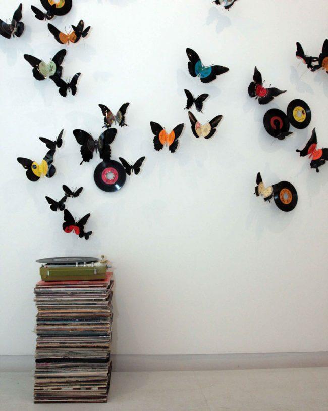 La composition de papillons maison transformera n'importe quelle pièce