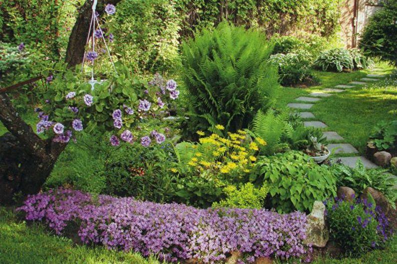Parterre de fleurs à la campagne : 7 idées d'aménagement paysager