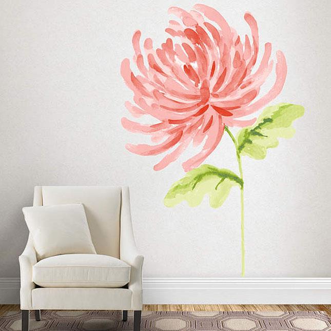 Peindre les murs à l'aquarelle
