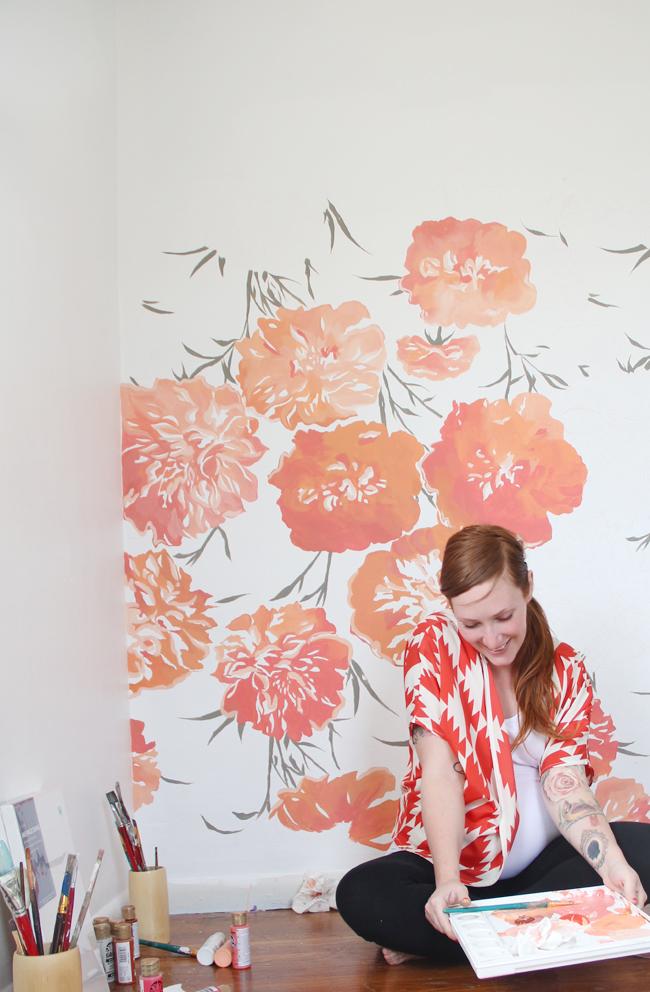 La peinture murale artistique est très précieuse, car c'est un artisanat unique et inimitable.
