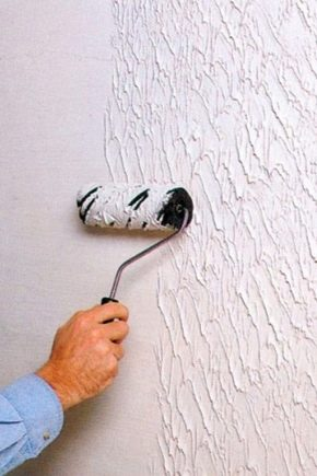 Peinture murale texturée: caractéristiques de sélection et d'application
