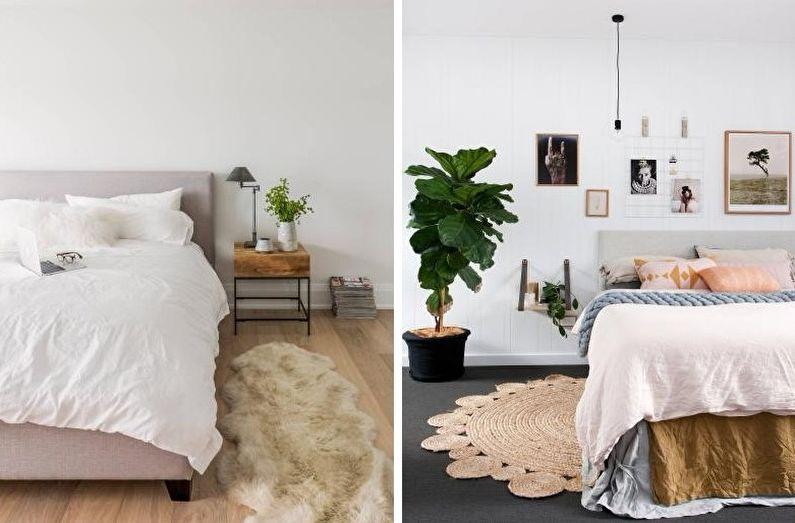 Plus de 70 idées de design de chambre blanche (photos)