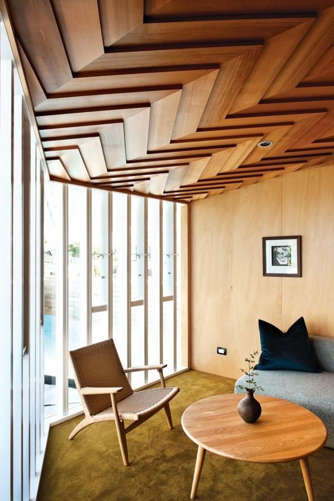 Les possibilités d'utilisation du bois à l'intérieur sont infinies