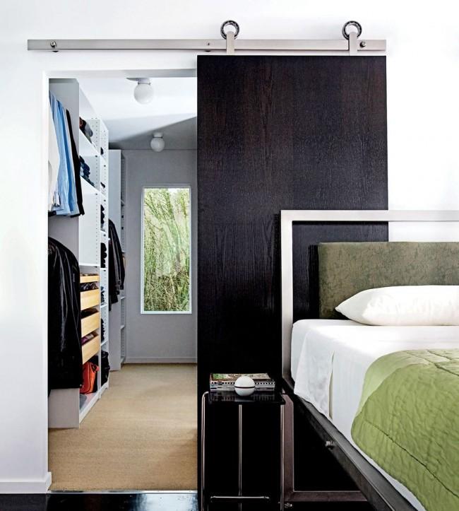 L'avantage des portes coulissantes dans leur fonctionnalité et leur caractère décoratif à la fois