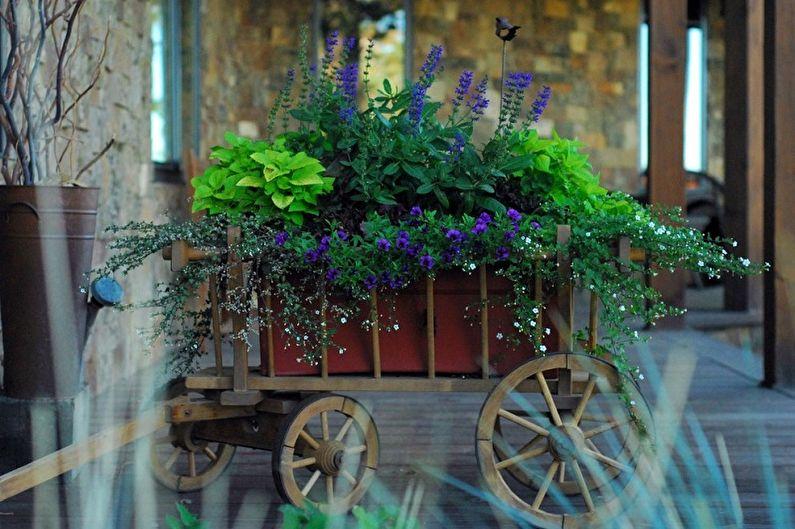 Pots de fleurs DIY : 100 idées de photos