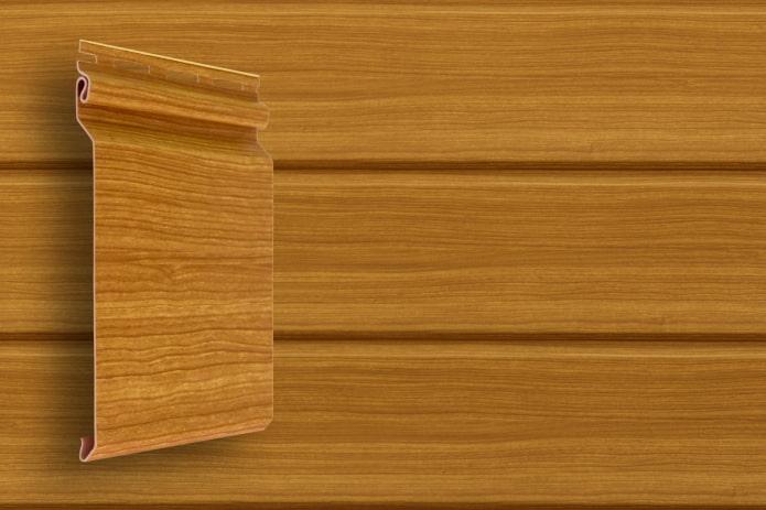 bardage vinyle grain de bois