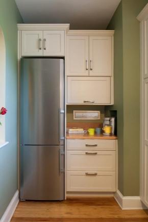 Réfrigérateurs étroits jusqu'à 45 cm de large