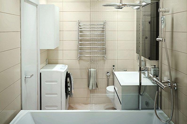 Salle de bain 5 m² : idées déco (90 photos)