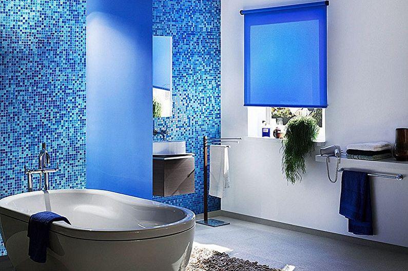 Salle de bain bleue : 75 idées de design (photos)
