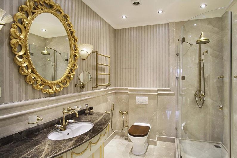 Salle de bain classique : design d'intérieur