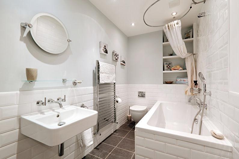 Salle de bain de style scandinave (+60 photos)