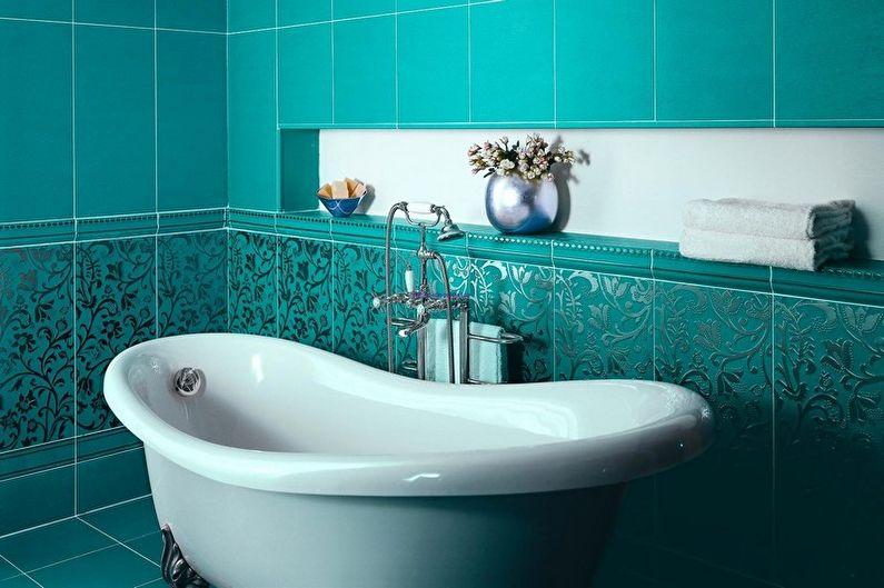 Salle de bain turquoise : 75 idées de photos