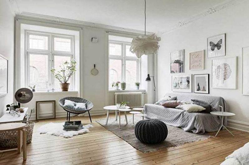 Salon de style scandinave (60 photos)
