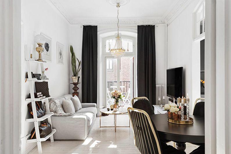 Salon design 18 m² : 50 idées lumineuses