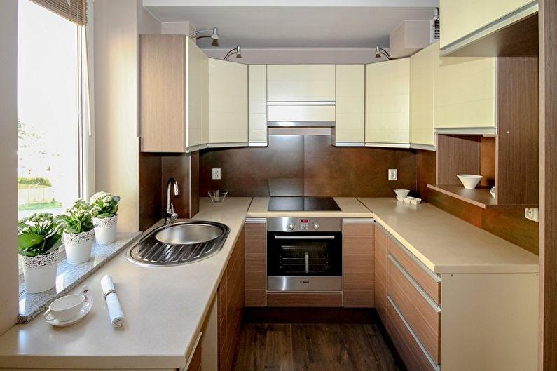 Set de cuisine pour une petite cuisine (60 photos)