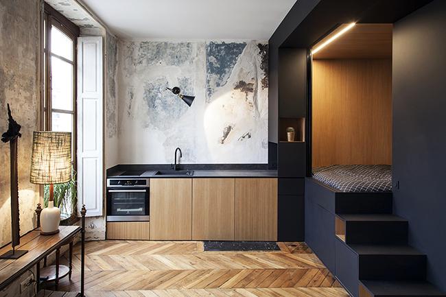 Studio français contemporain par Batiik Studio