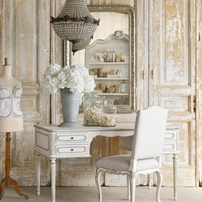 Le style provençal est idéal pour décorer les maisons de campagne