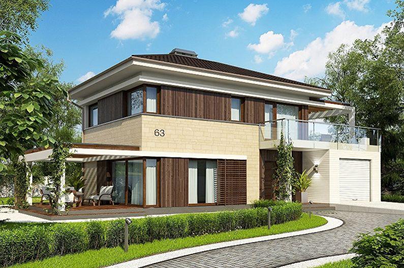 Maisons à ossature - Choix du nombre d'étages