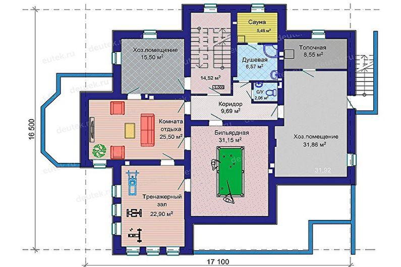 Idées pour l'aménagement de maisons à ossature - Nous ne construisons pas en haut, mais en bas