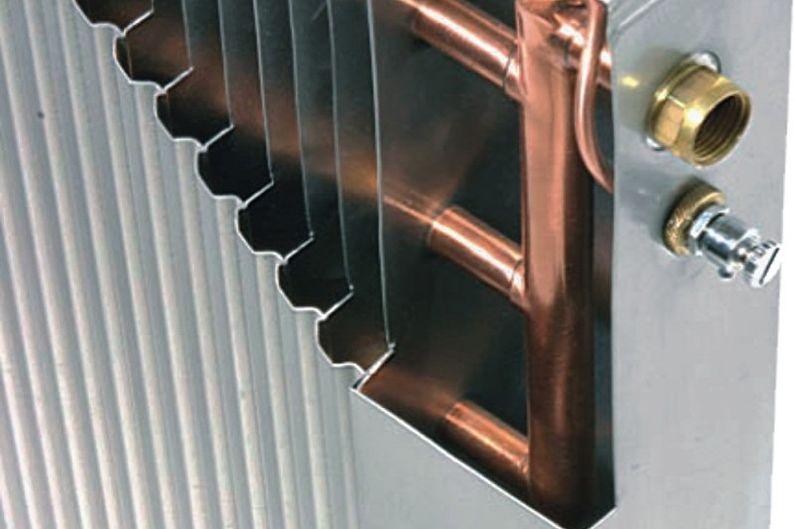 Types de radiateurs de chauffage bimétalliques - Radiateurs monolithiques