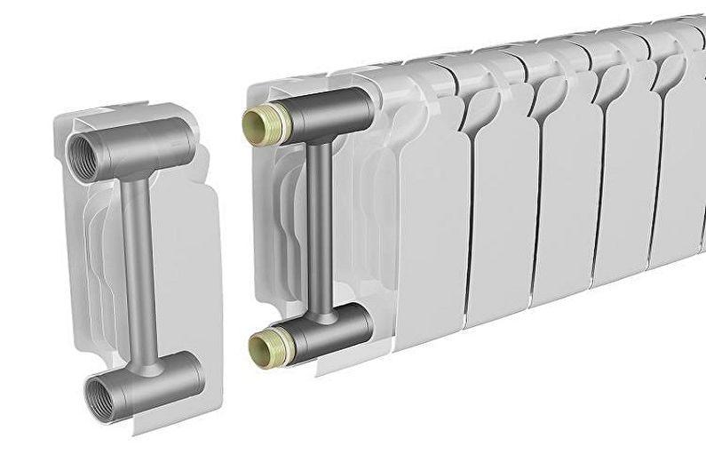 Types de radiateurs chauffants bimétalliques - Radiateurs pliants
