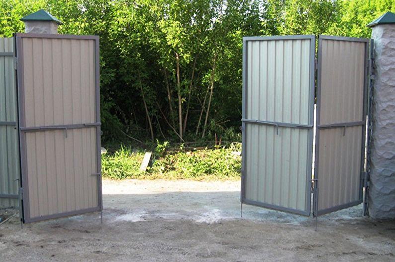 Caractéristiques de conception des portails et portillons en carton ondulé - Portails pliants en accordéon