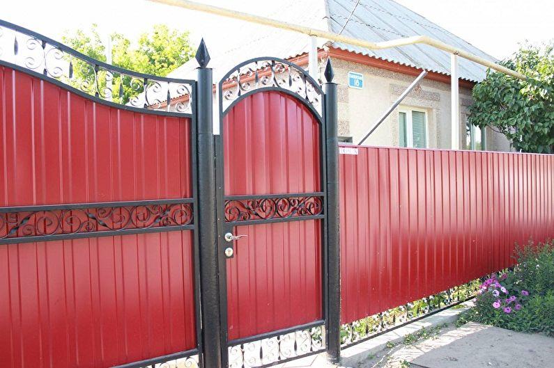 Portails et portillons en carton ondulé - Quels sont les portails