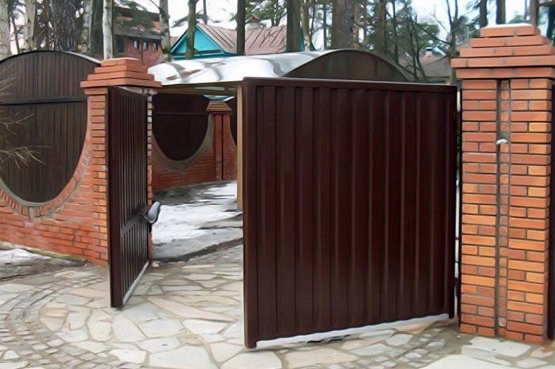 Caractéristiques de conception des portails et des guichets en carton ondulé - Swing